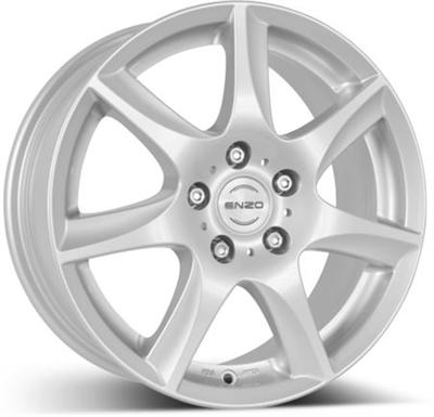 159134 ENZ W 6516511540 Enzo W fælg, 6.5x16 ET40, 115.00/5, Ø70.2, Silver Enzo