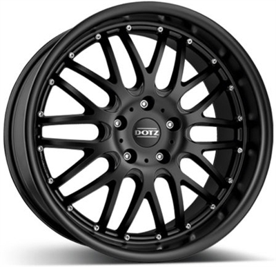 166717 DOT MUD 8018511235 Dotz Mugello  fælg, 8x18 ET35, 112.00/5, Ø70, Black matt Dotz
