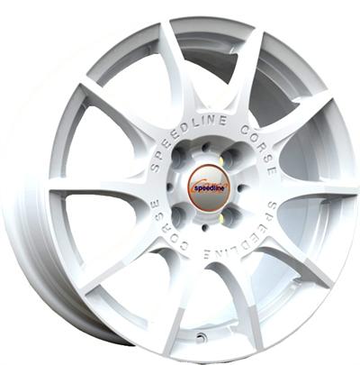 169135 SPE SL2W 701649835 Speedline Sl2  fælg, 7x16 ET35, 98.00/4, Ø68,  SpeedLine