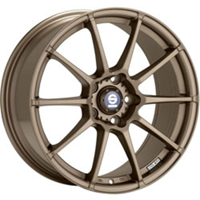 209221 SPA AGZ 8018511248 Sparco Assetto Gara  fælg, 8x18 ET48, 112.00/5, Ø73, Matt bronze Sparco