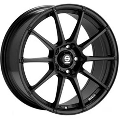 186013 SPA AGB 8018512029 Sparco Assetto Gara  fælg, 8x18 ET29, 120.00/5, Ø72.6, Matt black Sparco