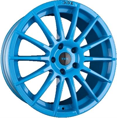 304991 TEC A2L 7017410825D Tec As2  fælg, 7x17 ET25, 108.00/4, Ø65, smurf light blue TEC by ASA