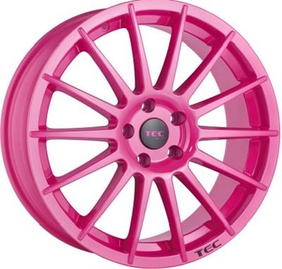 261380 TEC A2M 8018511245C Tec As2  fælg, 8x18 ET45, 112.00/5, Ø72.5, pink TEC by ASA