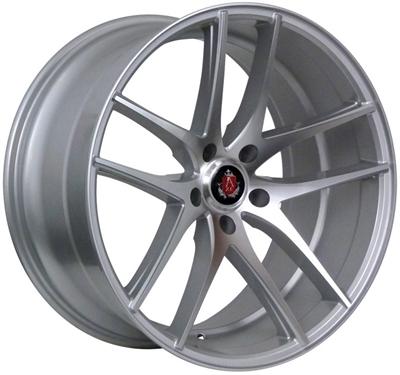 356088 AXE EX1901 852051122 Axe Ex19 fælg, 8.5x20 ET25, 112.00/5, Ø73, silver - polished face AXE