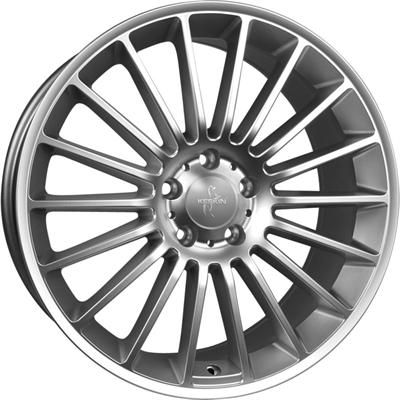239964 KES 15A 8520511242 Keskin Kt15 Speed fælg, 8.5x20 ET42, 112.00/5, Ø66.6, titan grey - lip polished Keskin