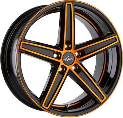 245614 OXI 18X 11521511260 Oxigin 18 Concave fælg, 11.5x21 ET60, 112.00/5, Ø66.6, orange polished Oxigin