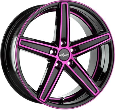 247006 OXI 18F 9020511430 Oxigin 18 Concave fælg, 9x20 ET30, 114.30/5, Ø72.6, pink polished Oxigin