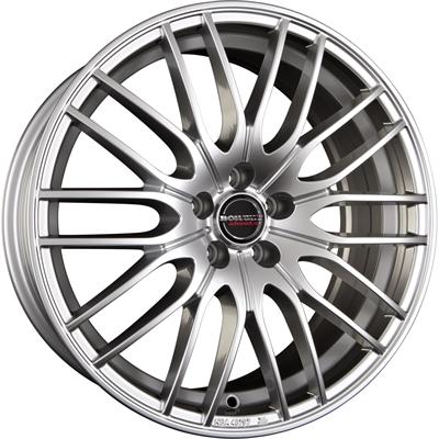 250215 BOR CW41 7519511244B Borbet Cw4  fælg, 7.5x19 ET44, 112.00/5, Ø66.6, sterling silver Borbet