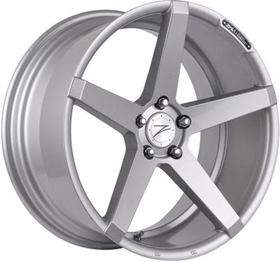 256422 ZPE 06T 8019512040B Z-performance Zp6.1 fælg, 8x19 ET40, 120.00/5, Ø72.6, sparkling silver Z-Performance