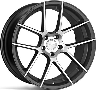 259616 ISP 06I 8520511232 Ispiri Wheels Isr6 fælg, 8.5x20 ET32, 112.00/5, Ø66.6, machined satin silver - graphite inner Ispiri Wheels