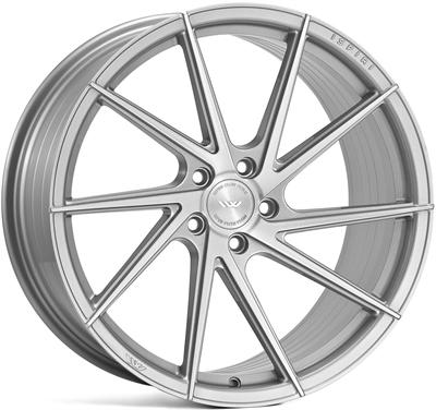 276849 ISP FFR14 851951124B Ispiri Wheels Ffr1d fælg, 8.5x19 ET42, 112.00/5, Ø66.6, pure silver brushed Ispiri Wheels