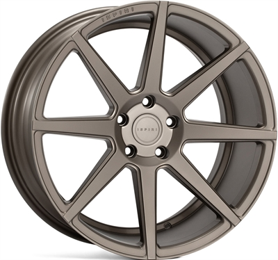 271996 ISP ISR8 8520512015 Ispiri Wheels Isr8 fælg, 8.5x20 ET15, 120.00/5, Ø72.6, matt carbon bronze Ispiri Wheels