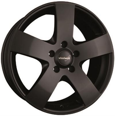 271576 WW 04A 7517512020 Wheelworld Wh04  fælg, 7.5x17 ET20, 120.00/5, Ø72.6, matt black WheelWorld