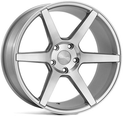 285008 VEE VF5 9519512033 Veeman V-fs3 fælg, 9.5x19 ET33, 120.00/5, Ø72.6, silver machined Veeman