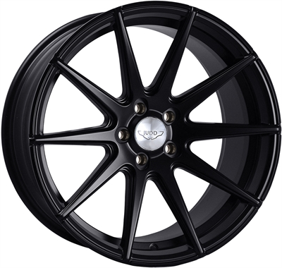 374005 JUD 3113 8519511225E Judd Elegance T311r fælg, 8.5x19 ET25, 112.00/5, Ø71.6, matt black Judd Elegance