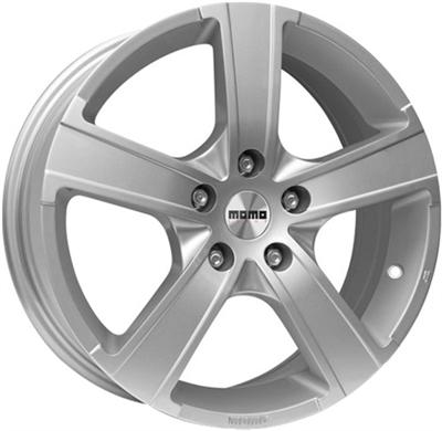 320963 MOM W12 6515410820 Momo Win Pro  fælg, 6.5x15 ET20, 108.00/4, Ø65, glossy silver - RESTPARTI Momo Italy