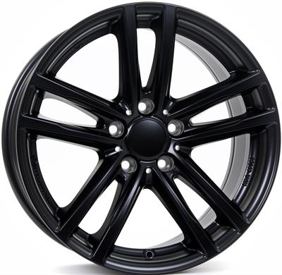 254424 UW X10MB 5019511243 Uniwheels X10  fælg, 5x19 ET43, 112.00/5, Ø66.6, racing-schwarz Rial