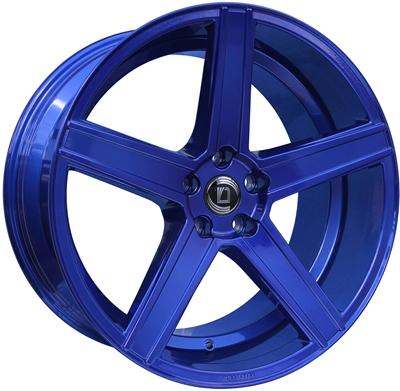 307565 DIE CA5 9020511225F Diewe Cavo fælg, 9x20 ET25, 112.00/5, Ø66.5, blue Diewe