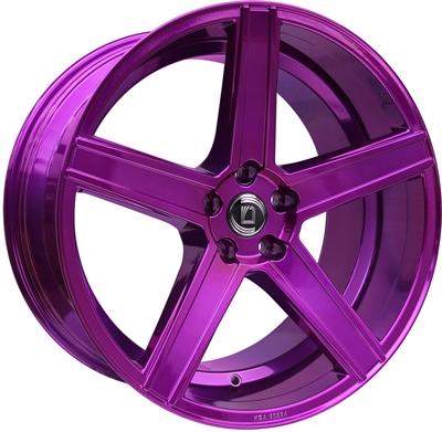 307023 DIE CA9 9020512030C Diewe Cavo fælg, 9x20 ET30, 120.00/5, Ø72.6, purple Diewe