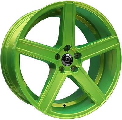 306618 DIE CV1 8519511247B Diewe Cavo fælg, 8.5x19 ET47, 112.00/5, Ø57, yellow green Diewe
