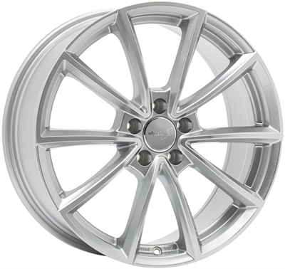 326087 WW WH2812 801951203B Wheelworld Wh28 fælg, 8x19 ET35, 120.00/5, Ø72.6, race silver WheelWorld