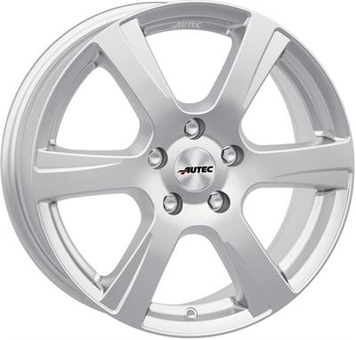 326622 AUT POLA1 601541003B Autec Polaric fælg, 6x15 ET35, 100.00/4, Ø60, brilliant silver Autec