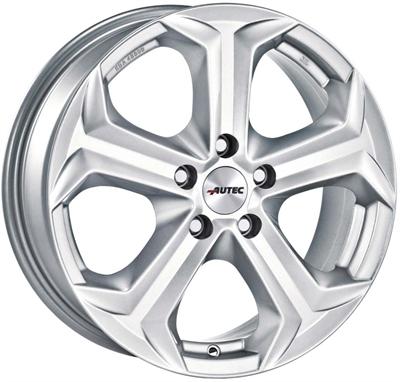 324276 AUT XENO 8519512038C Autec Xenos fælg, 8.5x19 ET38, 120.00/5, Ø72.6, brilliant silver Autec