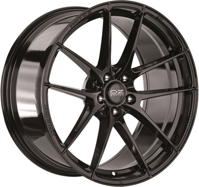 309918 OZ LEGG1 8019511245 Oz Racing Leggera Hlt fælg, 8x19 ET45, 112.00/5, Ø75, gloss black OZ Racing