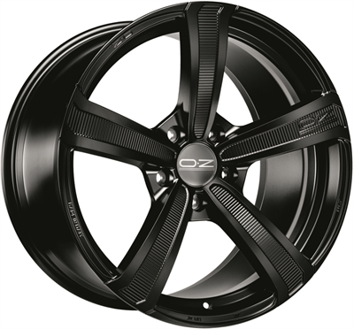 318443 OZ MONT 9019511230 Oz Racing Montecarlo Hlt fælg, 9x19 ET30, 112.00/5, Ø79, matt black OZ Racing