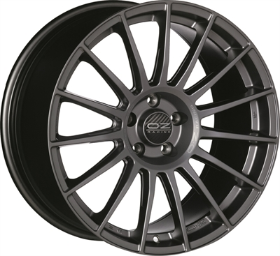 316722 OZ SUPE16 8018511245 Oz Racing Superturismo Lm fælg, 8x18 ET45, 112.00/5, Ø66.7, matt graphite OZ Racing