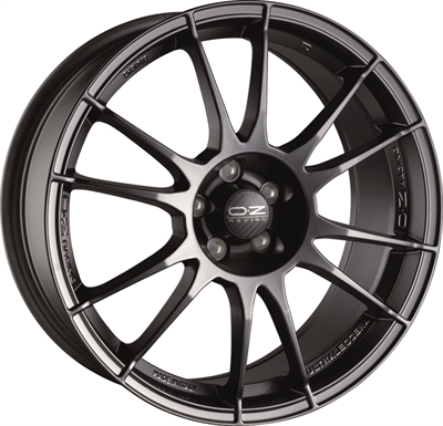 363474 OZ ULTR110 801851103 Oz Racing Ultraleggera fælg, 8x18 ET30, 110.00/5, Ø65, matt graphite OZ Racing
