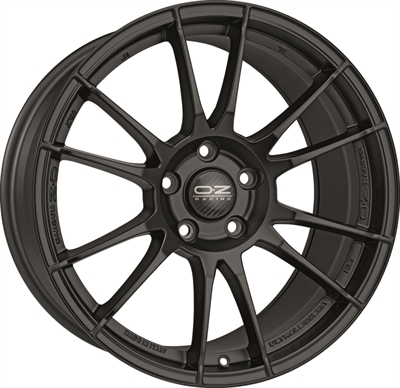 317905 OZ ULTR111 951951203 Oz Racing Ultraleggera Hlt fælg, 9.5x19 ET34, 120.00/5, Ø79, matt black OZ Racing
