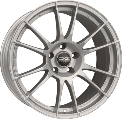 322303 OZ ULTR14 8520511245 Oz Racing Ultraleggera Hlt fælg, 8.5x20 ET45, 112.00/5, Ø79, matt race silver OZ Racing