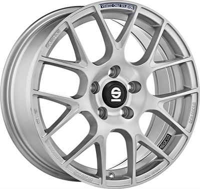 331757 SPA PR 8018512045 Sparco Pro Corsa  fælg, 8x18 ET45, 120.00/5, Ø72.6, full silver Sparco