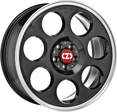 331478 OZ AN 7518511250 Oz Racing Anniversary45 fælg, 7.5x18 ET50, 112.00/5, Ø75, black diamond lip OZ Racing