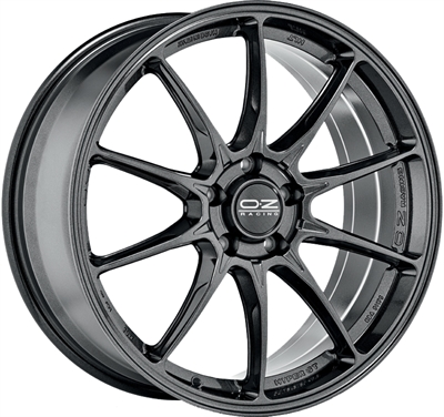 331616 OZ HY 8519512047 Oz Racing Hyper GT fælg, 8.5x19 ET47, 120.00/5, Ø79, star graphite OZ Racing