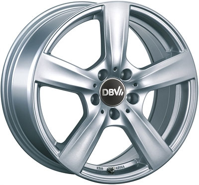 364090 DBV CO 8017511235B Dbv Como fælg, 8x17 ET35, 112.00/5, Ø66.6, metallic silver DBV