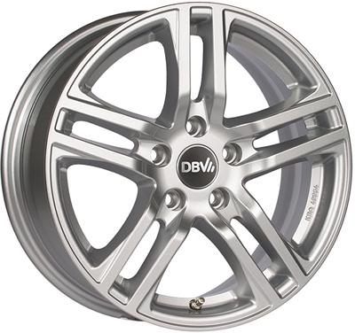 364162 DBV MAUR 8018511245 Dbv Mauritius fælg, 8x18 ET45, 112.00/5, Ø57, metallic silver DBV