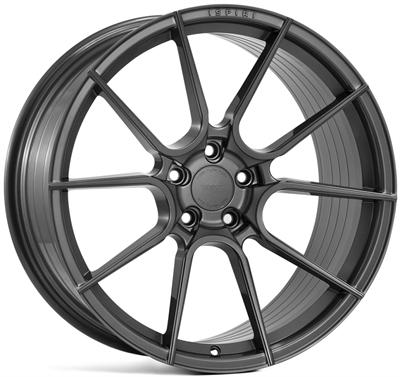 323674 ISP FFR61 8520511242 Ispiri Wheels Ffr6 fælg, 8.5x20 ET42, 112.00/5, Ø66.6, carbon graphite Ispiri Wheels