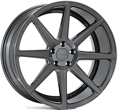 326460 ISP ISR83 902051203B Ispiri Wheels Isr8 fælg, 9x20 ET30, 120.00/5, Ø72.6, carbon graphite Ispiri Wheels