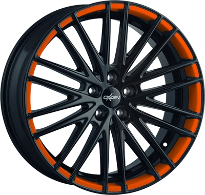 309840 OXI 19X7 8520511223 Oxigin 19 Oxspoke fælg, 8.5x20 ET23, 112.00/5, Ø66.6, orange foil Oxigin