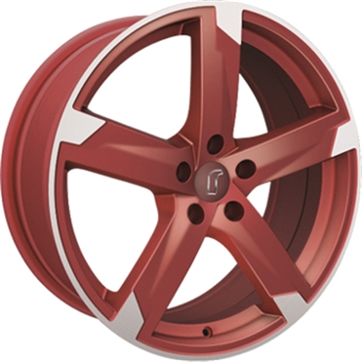 311212 ROD 01RZ 7517512035 Rondell 01rz fælg, 7.5x17 ET35, 120.00/5, Ø72.6, racing red matt polished Rondell