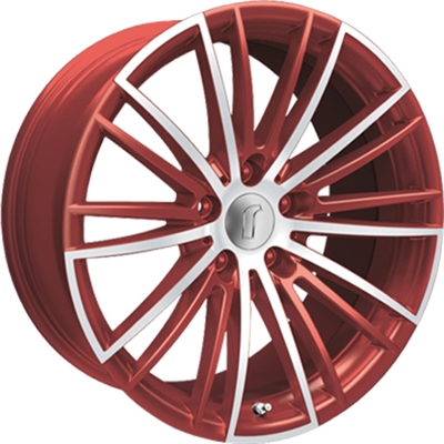 327000 ROD 08RZ4 851951202B Rondell 08rz fælg, 8.5x19 ET25, 120.00/5, Ø72.6, metallic red matt polished Rondell