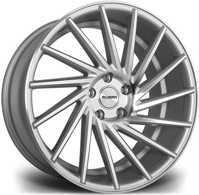 323917 RVA RV132 852051123B Riviera Rv135 fælg, 8.5x20 ET33, 112.00/5, Ø73, silver polished Riviera