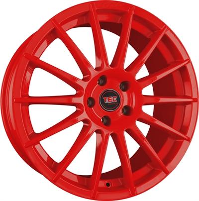 324250 TEC AS21 7017410825B Tec By Asa As2 fælg, 7x17 ET25, 108.00/4, Ø65, red TEC by ASA