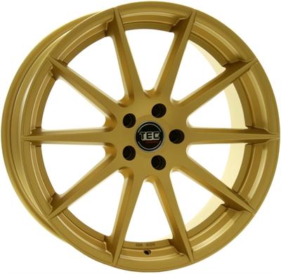 326852 TEC GT71 8519511225B Tec By Asa Gt7 fælg, 8.5x19 ET25, 112.00/5, Ø72.5, gold TEC by ASA