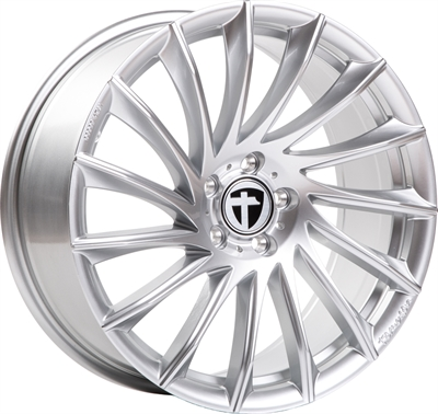 321818 TOM TN161 8018511035 Tomason Tn16 fælg, 8x18 ET35, 110.00/5, Ø65, bright silver Tomason