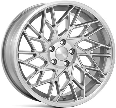 311712 VEE VFS3 8519511232 Veeman V-fs29r fælg, 8.5x19 ET32, 112.00/5, Ø66.6, silver machined Veeman