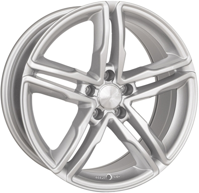 310471 WW WH1112 8018511226 Wheelworld Wh11  fælg, 8x18 ET26, 112.00/5, Ø66.6, full silver WheelWorld