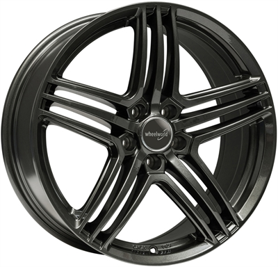 314503 WW WH121 8019511235 Wheelworld Wh12  fælg, 8x19 ET35, 112.00/5, Ø66.6, dark gunmetal WheelWorld